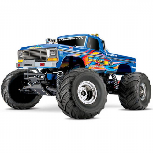 Traxxas Retro Bigfoot No.1 1:10 Officially Licensed Replica Monster Truck RTR (+ TQ, XL-5, 7-Cell Ni